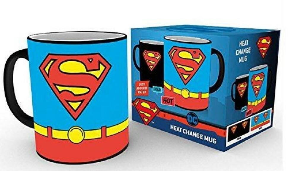 Mug Superman thermo réactif