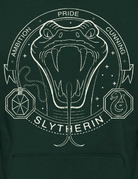 Sweat-shirt Serpentard vert