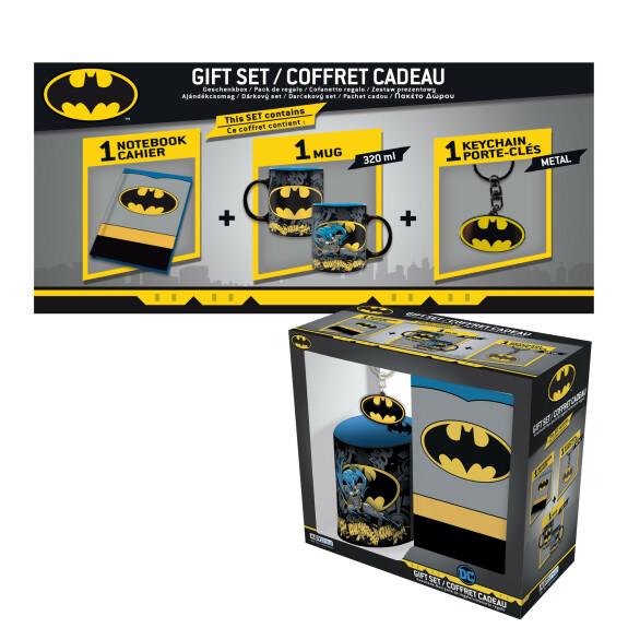 Coffret cadeau Batman mug carnet rigide 164 pages porte clés