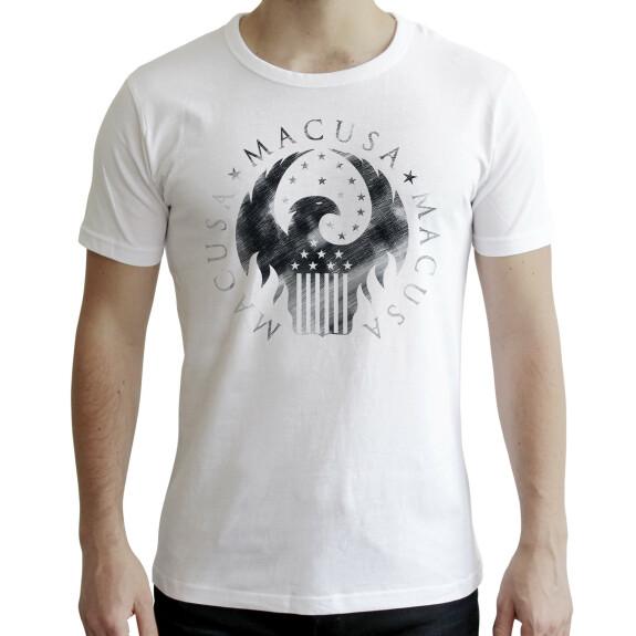 T-shirt MACUSA blanc