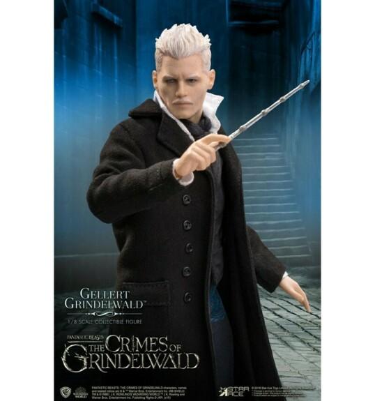 Figurine Gellert Grindelwald articulée Star Ace Real Master Series 1/8