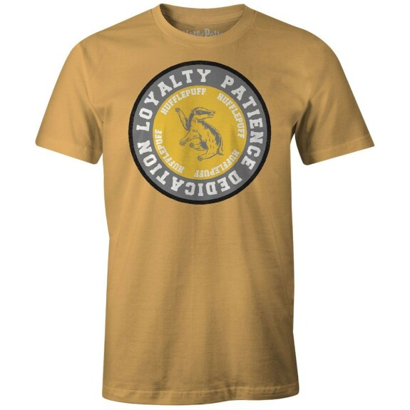 T-shirt Poufsouffle Loyalty Jaune