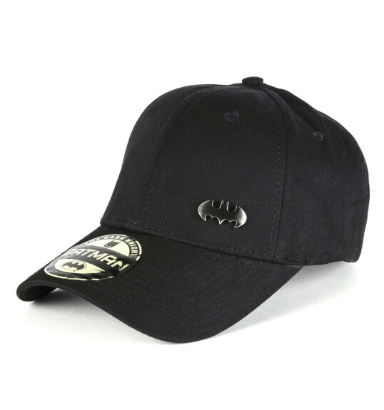 Casquette Batman noire logo métal