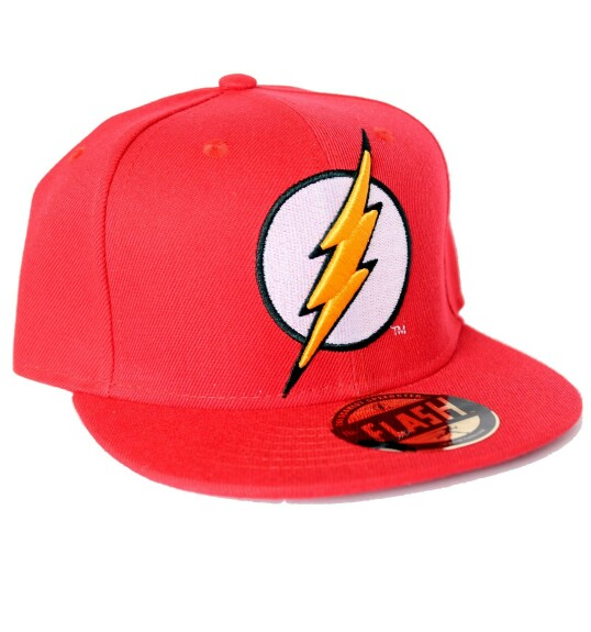 Casquette Flash rouge logo