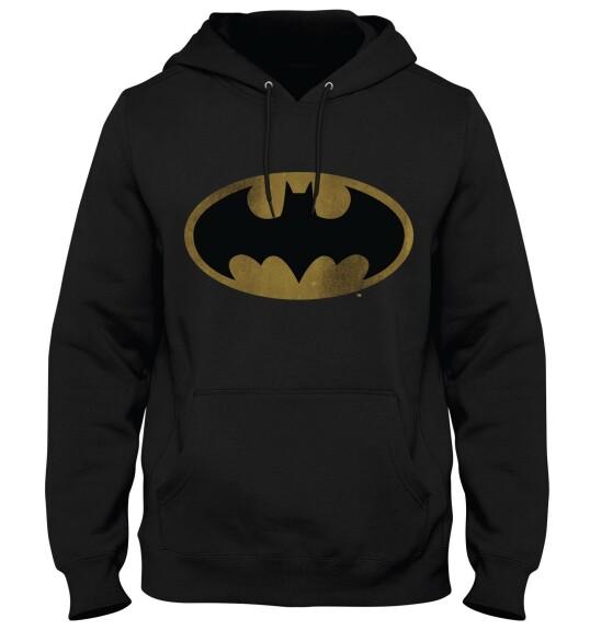 Sweat à capuche Batman logo grunge