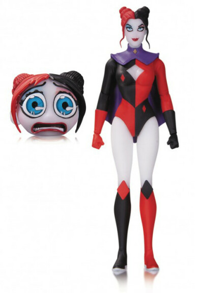 Harley Quinn Superhero figurine DC Collectibles Designer Series by Amanda Conner