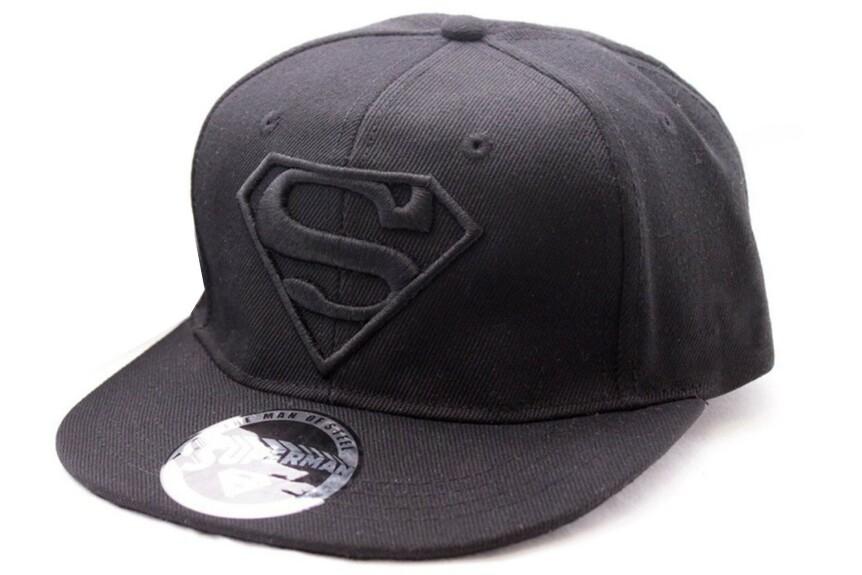 Casquette Superman logo noir