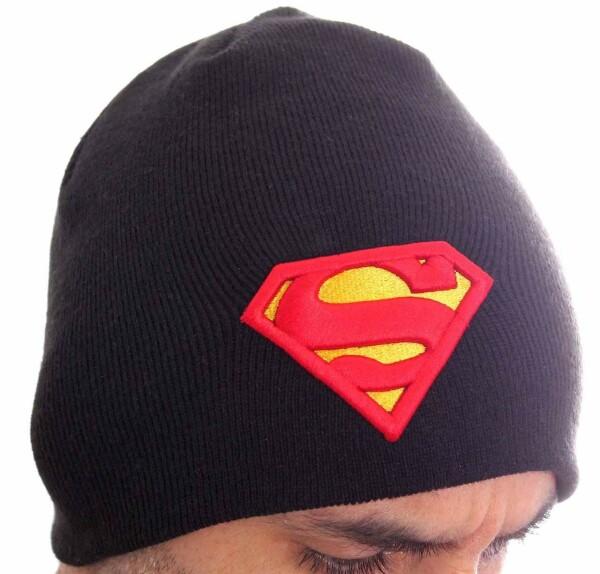Bonnet Superman logo classic noir