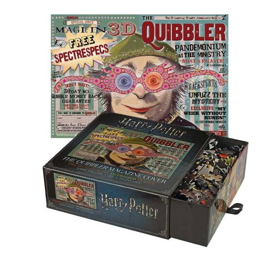 Couverture du Magazine le Chicaneur - puzzle 1000 pièces