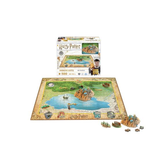 Puzzle Poudlard – 4D Cityscape 543 pièces