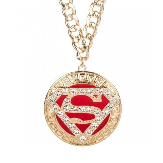 Pendentif Superman logo