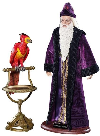 Figurine Albus Dumbledore avec Fumseck le Phénix 1/6 36 cm Star Ace