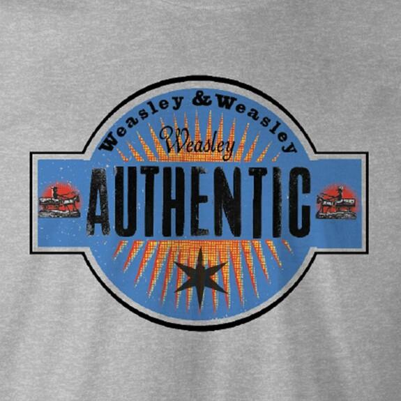 T-shirt Weasley Authentic gris chiné