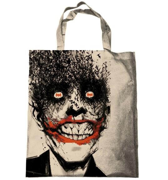 Tote bag Joker chauve-souris