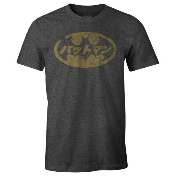 T-shirt Batman Japanese Bat Anthracite-chiné