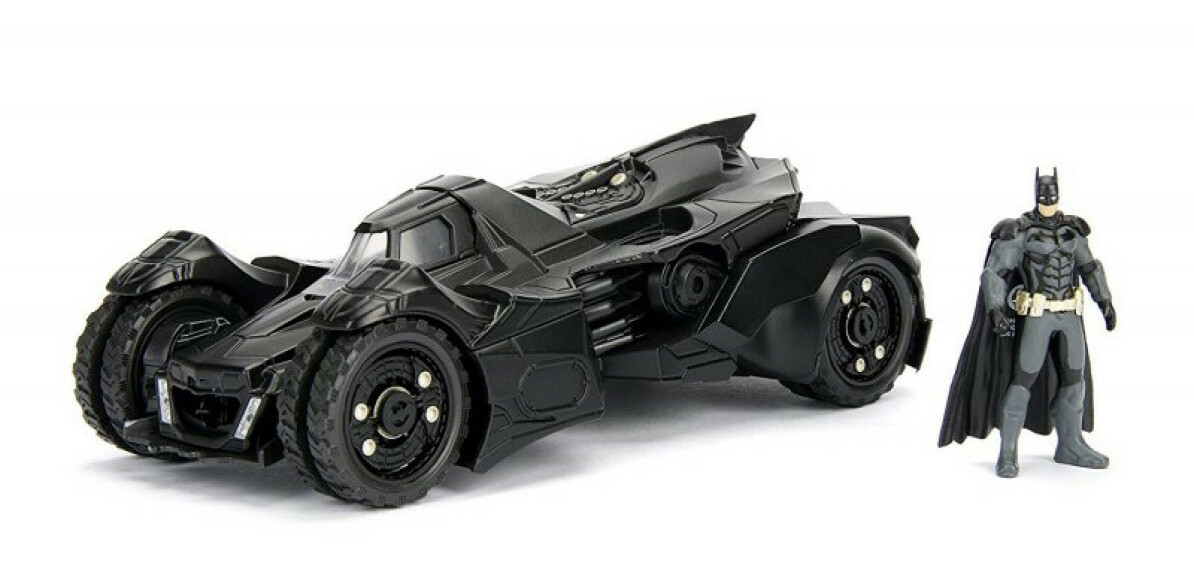Batman et Batmobile figurines jeu Batman Arkham Knight 1/24 Jada Toys