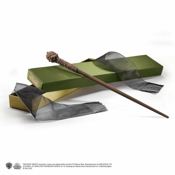 Baguette magique de Bunty avec boîte Ollivander