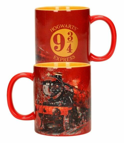 Set de 2 Mugs - Logo et Poudlard Express