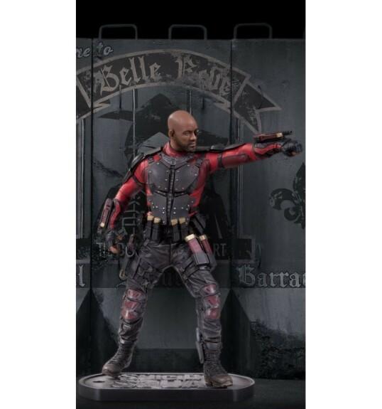 Deadshot statue film Suicide Squad 30 cm