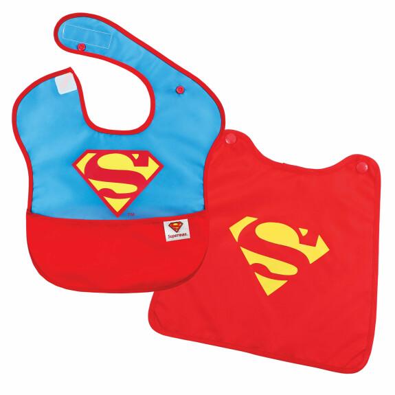 Super Bavoir avec cape amovible Superman