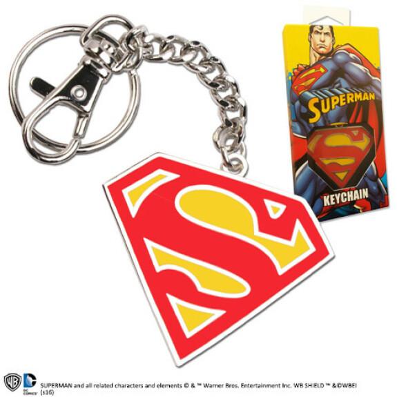 Porte clés logo Superman couleur