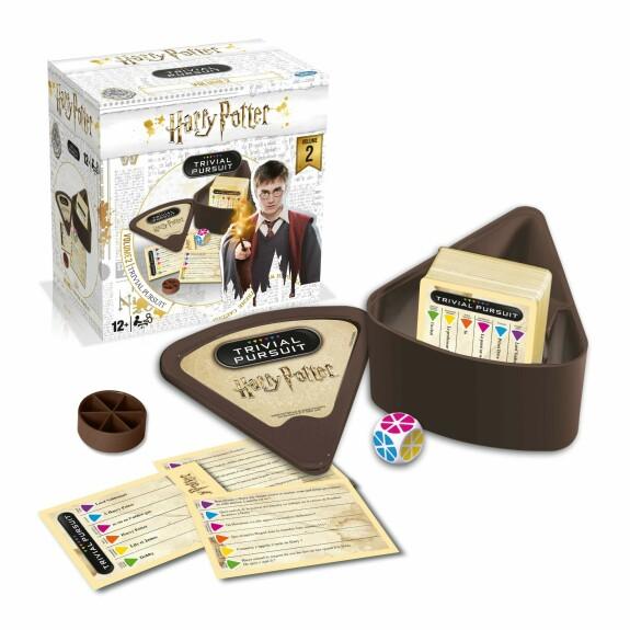 Trivial Pursuit Format de voyage Harry Potter Volume 2 Version Française
