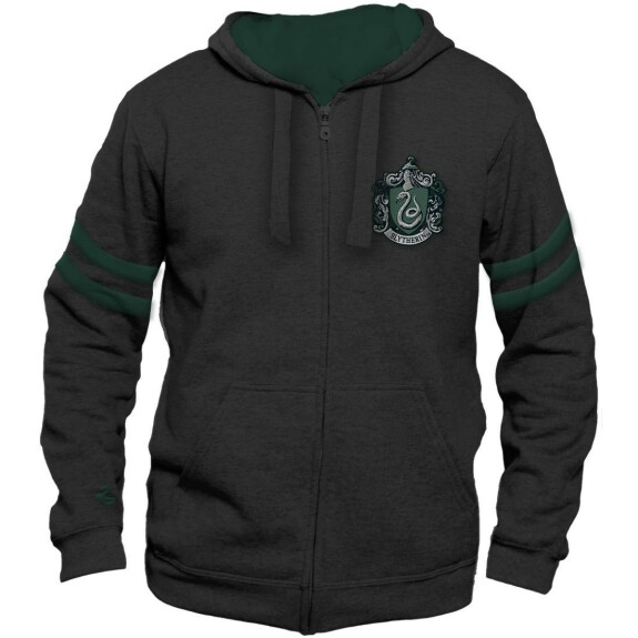 Sweatshirt de Sport anthracite logo Serpentard