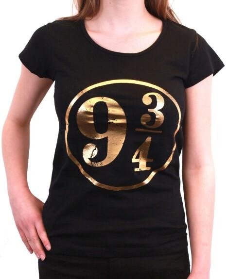 T-shirt Femme Quai 9 3/4 noir