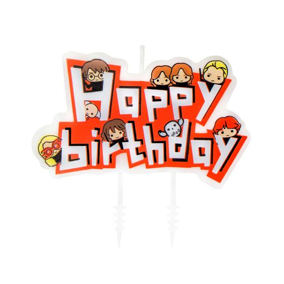 Set 10 bougies anniversaire Kawaii