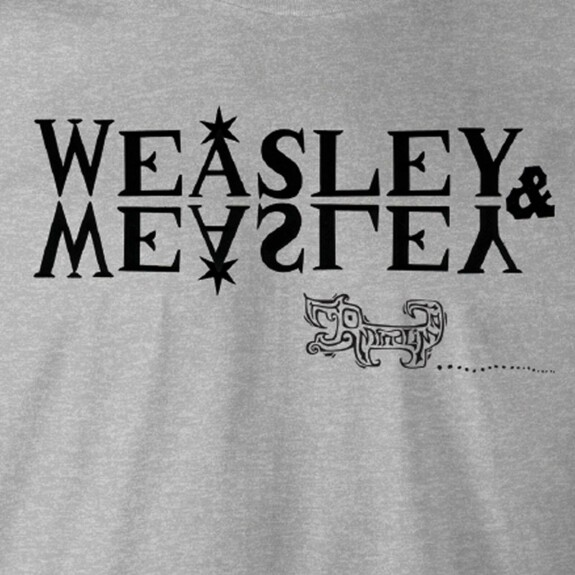 T-shirt Weasley & Weasley gris chiné