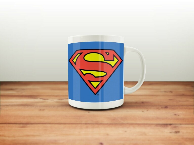 Mug Superman logo