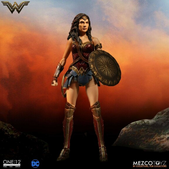 Wonder Woman action figure Mezco One 12