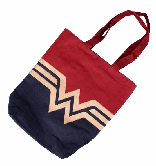 Sac en toile Wonder Woman Logo Gold