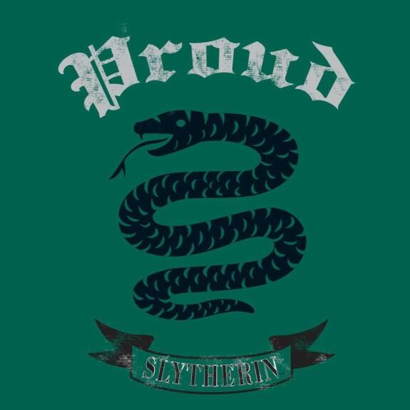 T-shirt Femme Serpentard Proud vert chiné