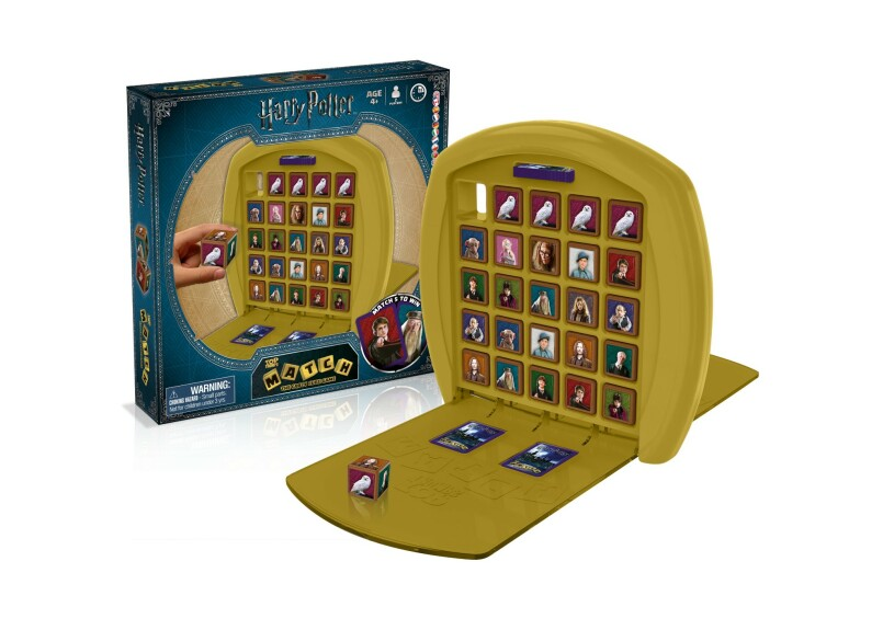 Jeu de cubes Match Harry Potter Top Trumps