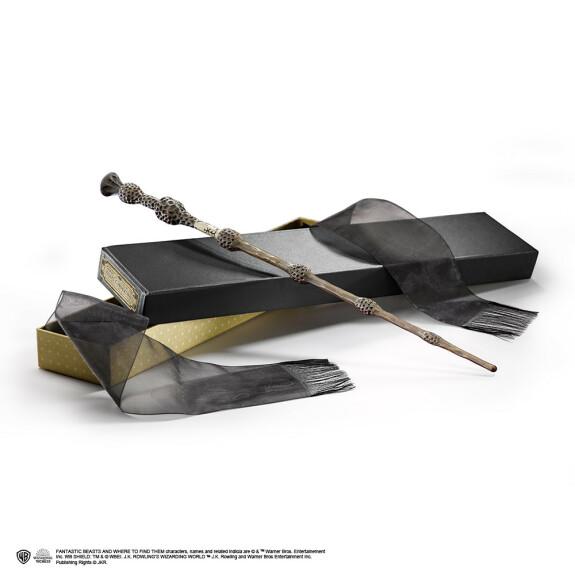 Baguette de Sureau version Gellert Grindelwald avec boîte Ollivander