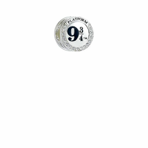 Perle Plateforme 9 3/4 Argent 925ème avec cristaux de Swarovski