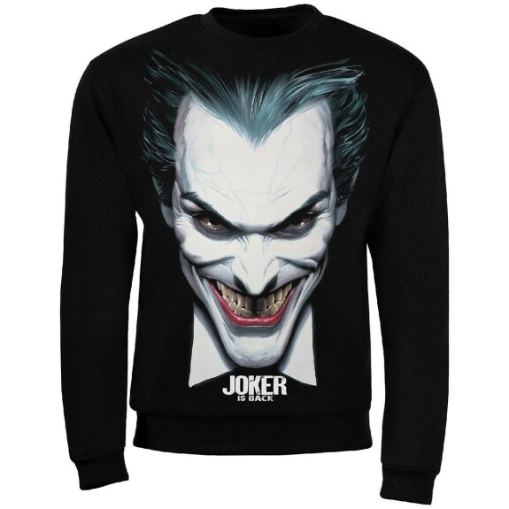 Sweat Joker Is Back couleur noir