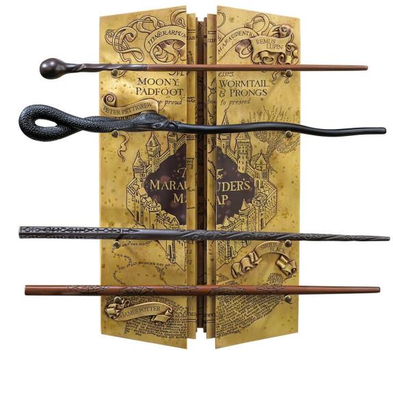 Présentoir La Carte Du Maraudeur avec 4 baguettes