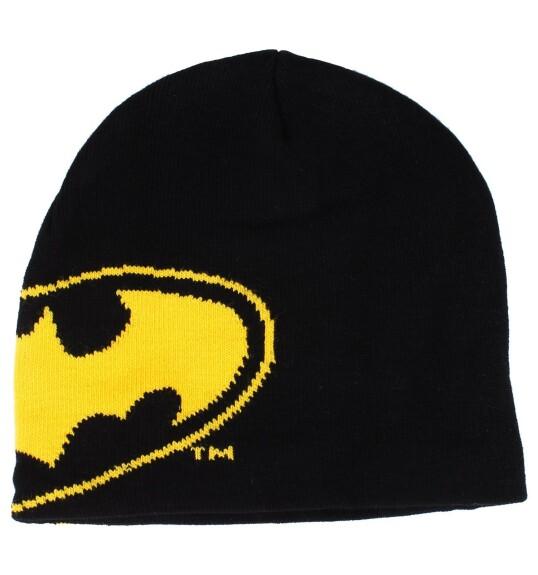 Bonnet Batman logo jaune