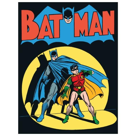 T-shirt Batman Vintage Comic Cover Blanc