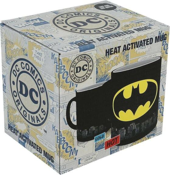 Mug Batman thermo réactif logo