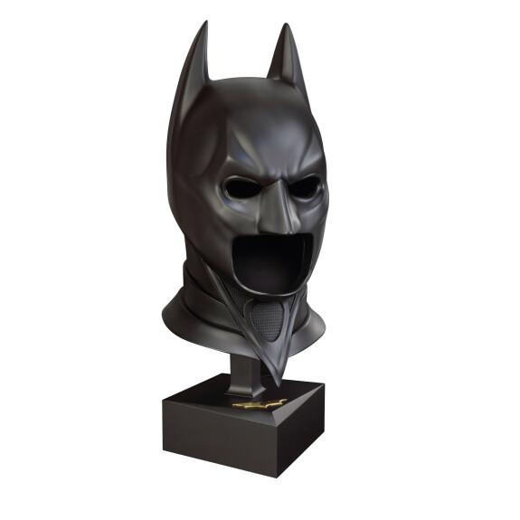 Masque de Batman en métal sur socle édition Spéciale Batman The Dark Knight