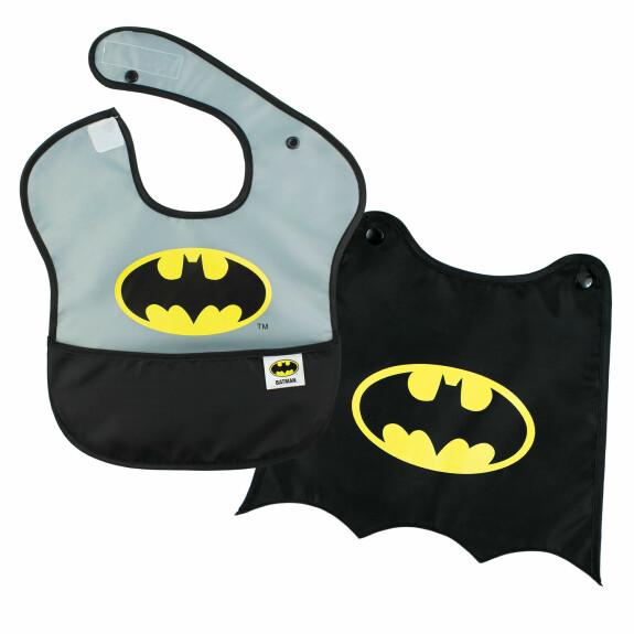 Super bavoir avec cape amovible Batman