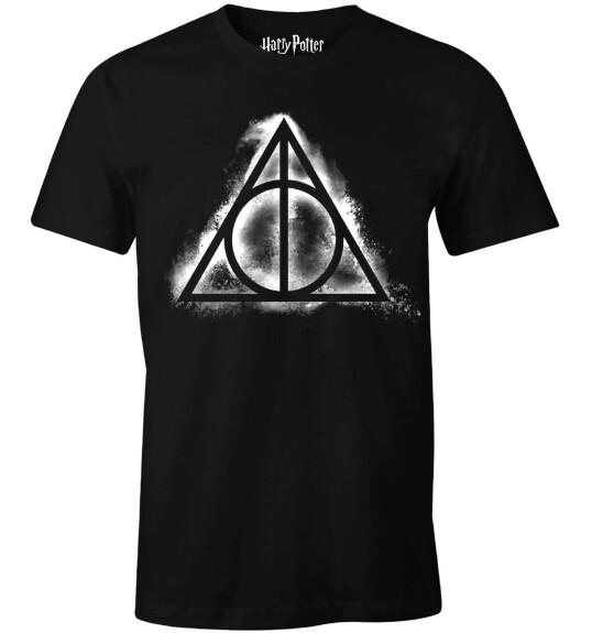 T-shirt Reliques de la Mort Fumée noir