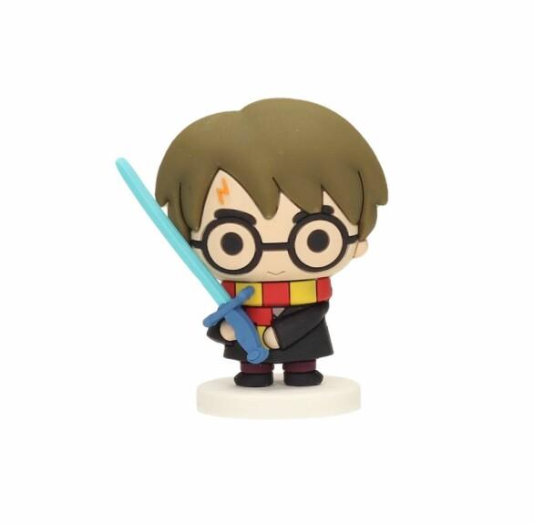 Mini Figurine Harry Potter avec l'épée de Gryffondor en caoutchouc SD Toys
