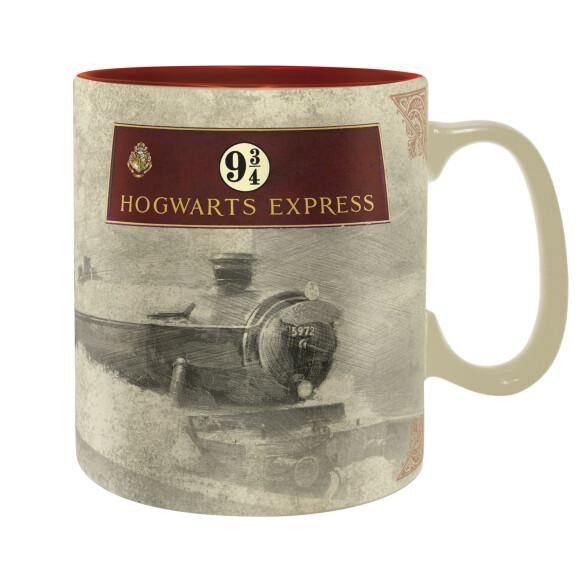 Mug Poudlard express et quai 9 3/4 grande contenance