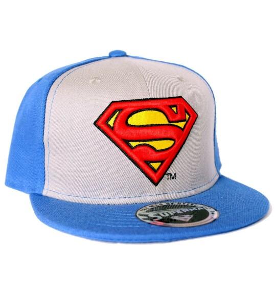 Casquette Superman bleue et blanche