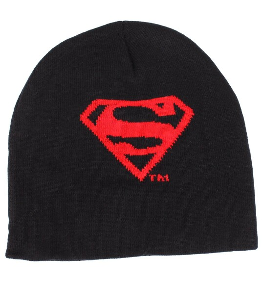 Bonnet Superman logo rouge