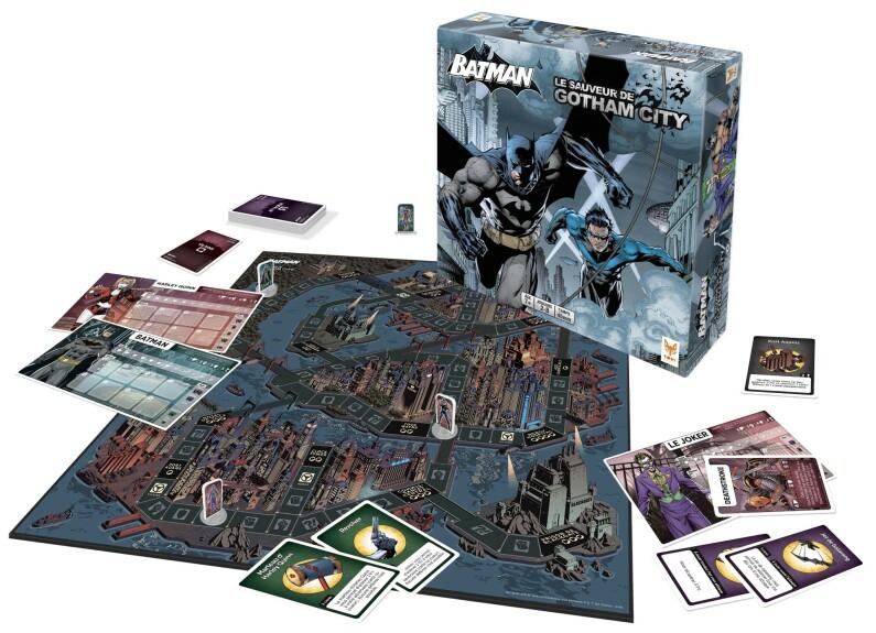 Batman, Le sauveur de Gotham City